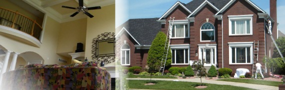 Home Painter Louisville and Interior and Exterior Commercial Painting, Louisville KY
